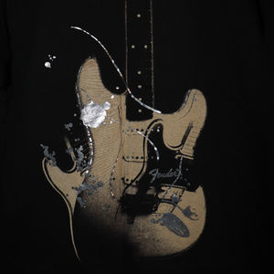 Fender Guitar Electric Instrument Rock Goth Shirt